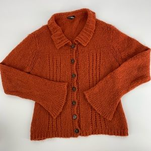 Wooden Ships Cardigan Sweater. Sz M/L